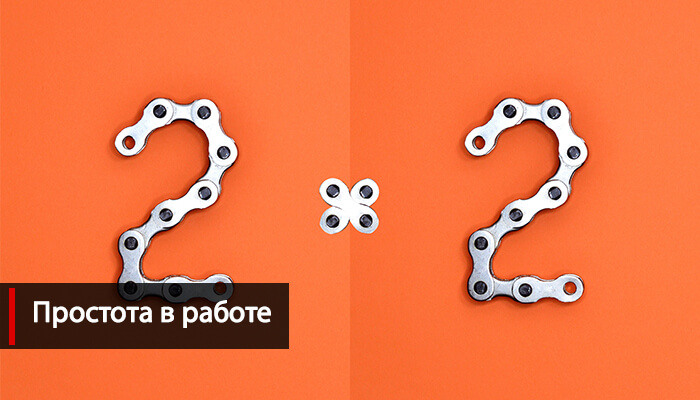 Простота работы в WordPress